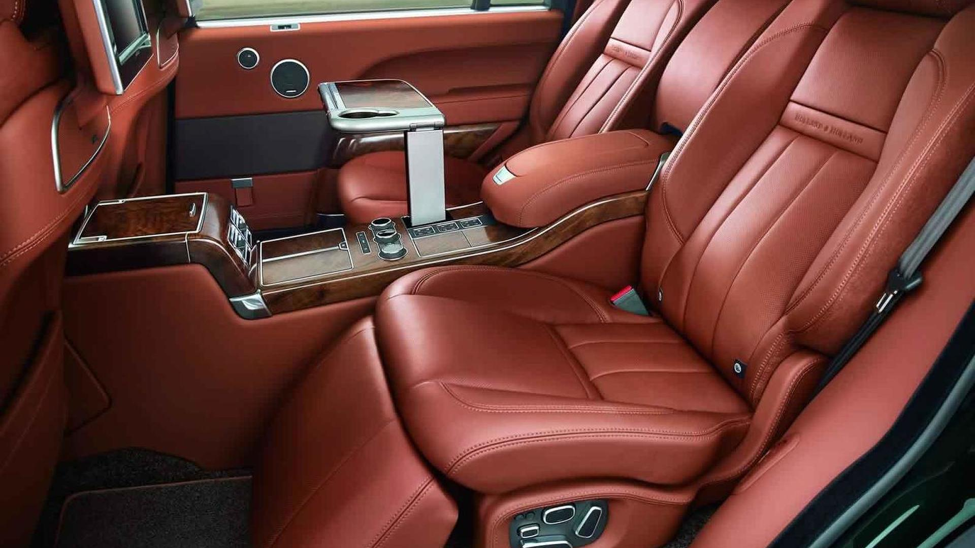 Land Rover SVO and Holland & Holland unveil most luxurious and expensive Range Rover ever