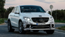 Two Mercedes GLE 63 AMG Coupes caught wearing minimal disguise