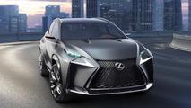 Lexus LF-NX Turbo concept set for Tokyo Motor Show arrival