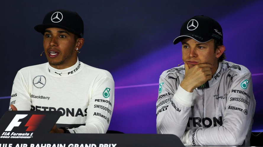 Rosberg claims 'better than Hamilton in dry'