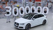 Audi builds its three-millionth A3
