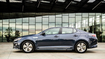 2014 Kia Optima Hybrid facelift unveiled in Chicago [video]