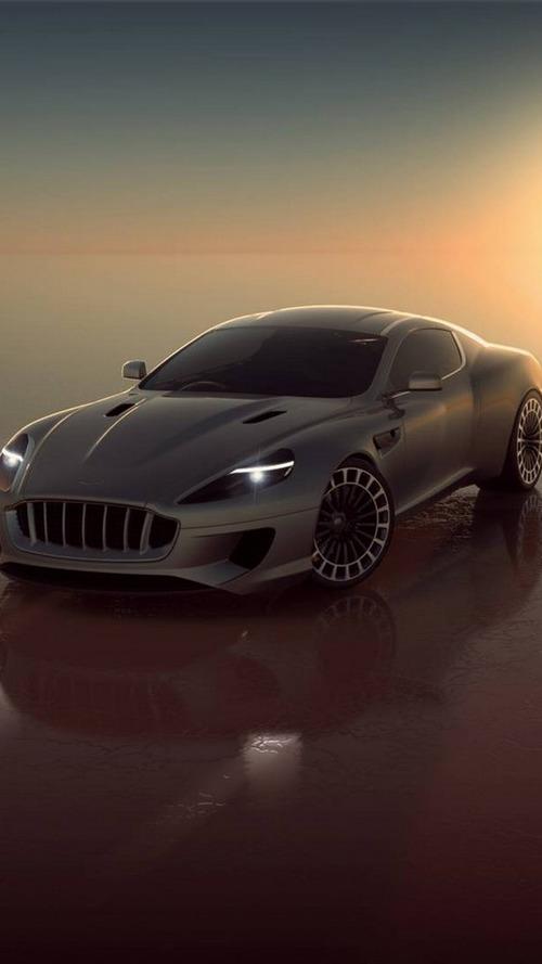 Heavily tuned Aston Martin DB9 getting ready for Geneva