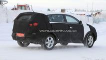2011 Kia Sportage spy photo winter testing 17.01.2010