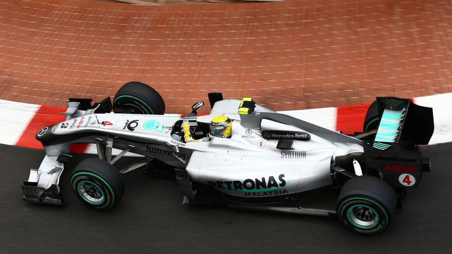 Rosberg not disappointed with new car switch