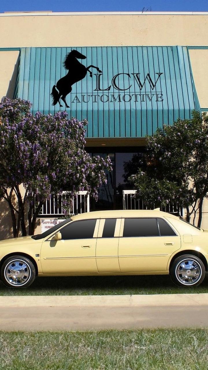 Thailand Royal Family Cadillac DTS limousine