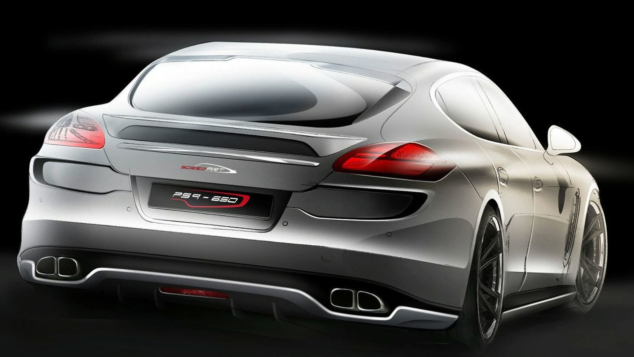 SpeedART PS9-650 - Porsche Panamera Turbo - 1600