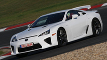 Lexus LFA Leases for $12,400 per month, $60,000 due at signing