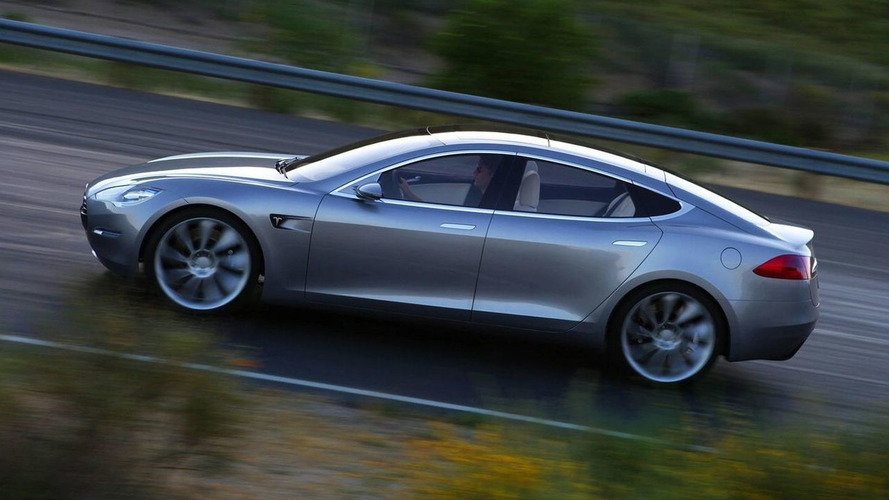 2012 Tesla Model S new photos released