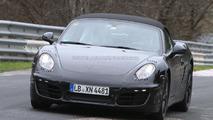 2012 Porsche Boxster testing Nurburgring 11.04.2011