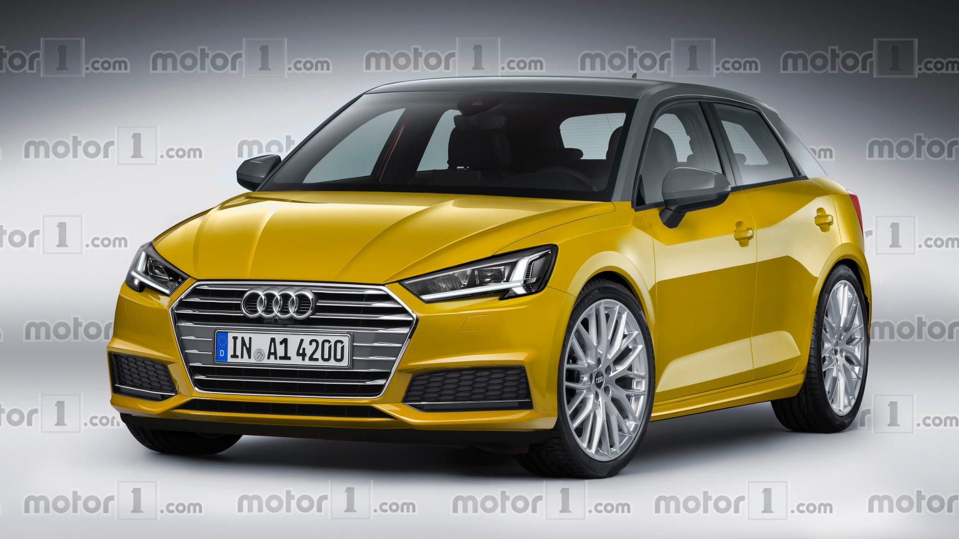 Audi A1 New Model >> New Audi A1 speculatively rendered