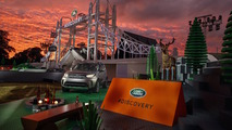 Land Rover Discovery debuts on world's largest Lego structure ever built