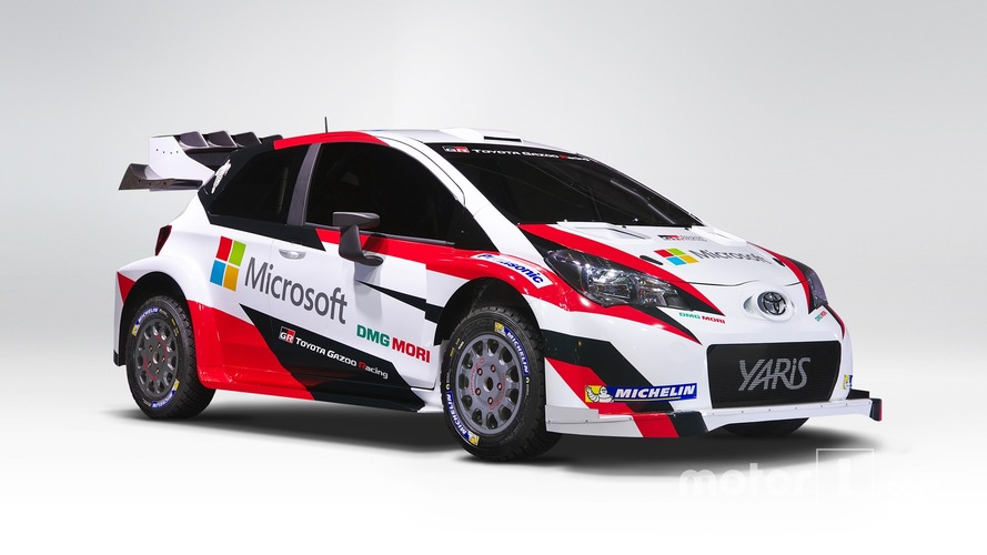 Toyota partners with Microsoft for 2017 WRC return