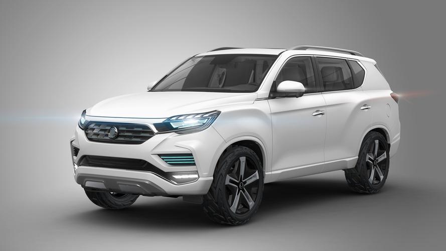 Ssangyong LIV-2 SUV Paris concept revealed showing new design language