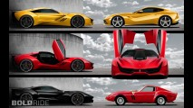 Ferrari CascoRosso Concept by Dejan Hristov