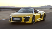 2017 Audi R8 Spyder flaunts its sharp body in six videos