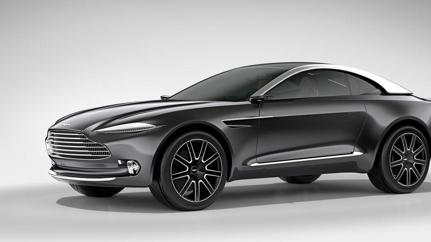 Aston Martin DBX Concept revealed, previews the future of the GT segment