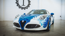 Alfa Romeo 4C Hokusai features air-brushed Japanese art