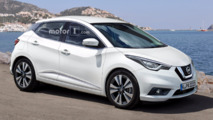 2017 Nissan Micra taking shape