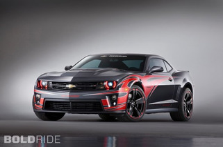 SEMA 2012: Chevy Breaks Out a Trio of Custom Camaros and Corvettes