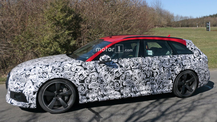 2018 Audi RS4 Avant Spied Near The Nurburgring