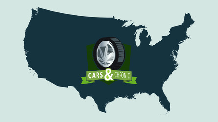 Driving laws in states with legalized pot