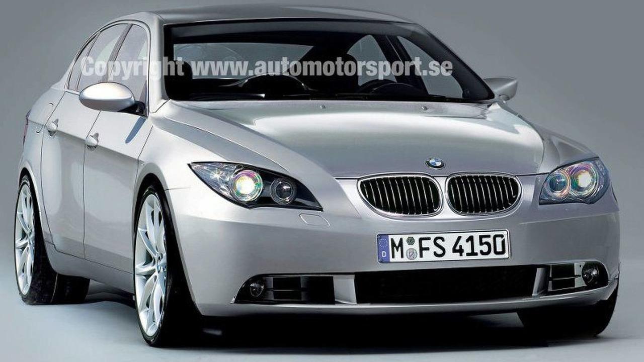 2010 BMW 5 Series computer rendering