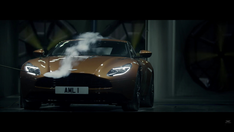Aston Martin DB11 reveals its aerodynamic secrets