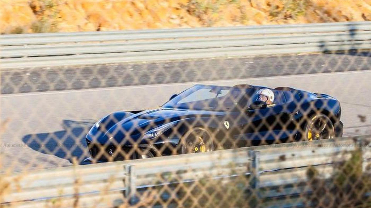 Ferrari F12 TRS spotted in Spain