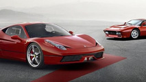 WCF reader renders and creates brochure for hypothetical Ferrari 458 GTO