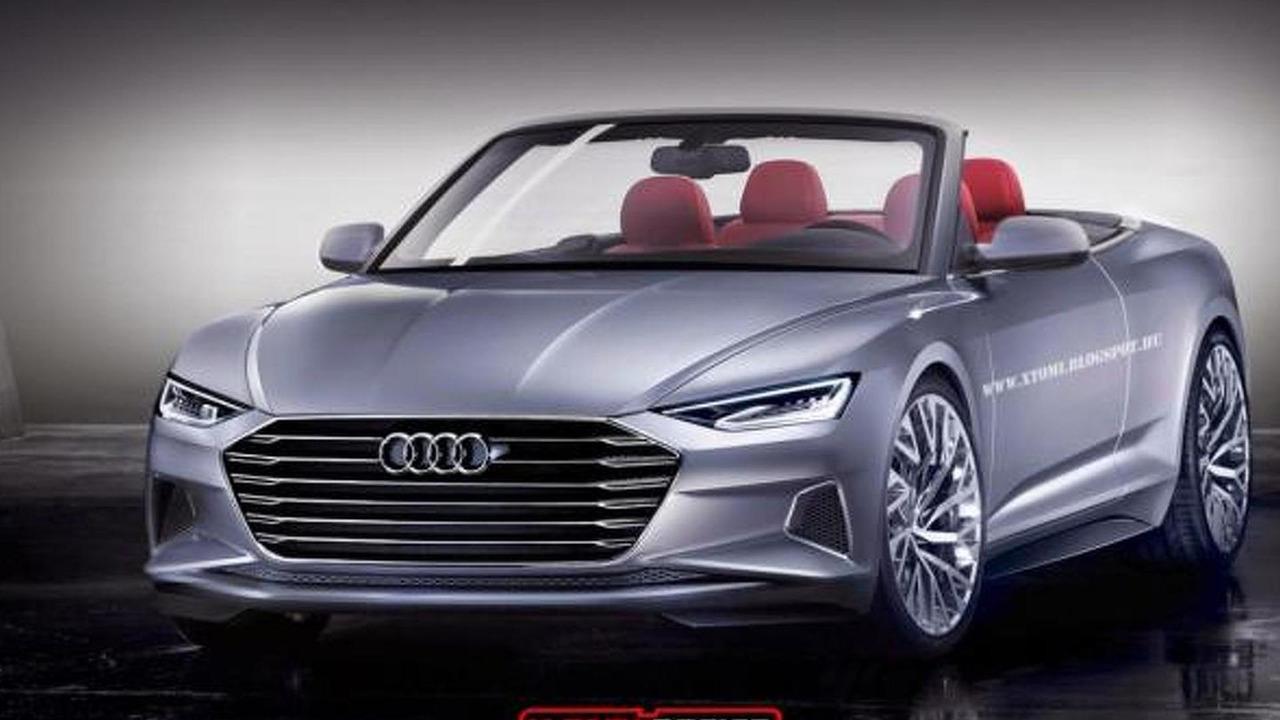 Audi Prologue Cabrio Concept rendering / X-Tomi Design