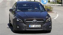Mercedes CLA / CLA Shooting Brake facelift spy photo
