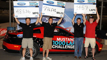 2011 Ford Mustang V6 achieves 48.5 mpg over 776.5 miles on one tank of fuel [video]