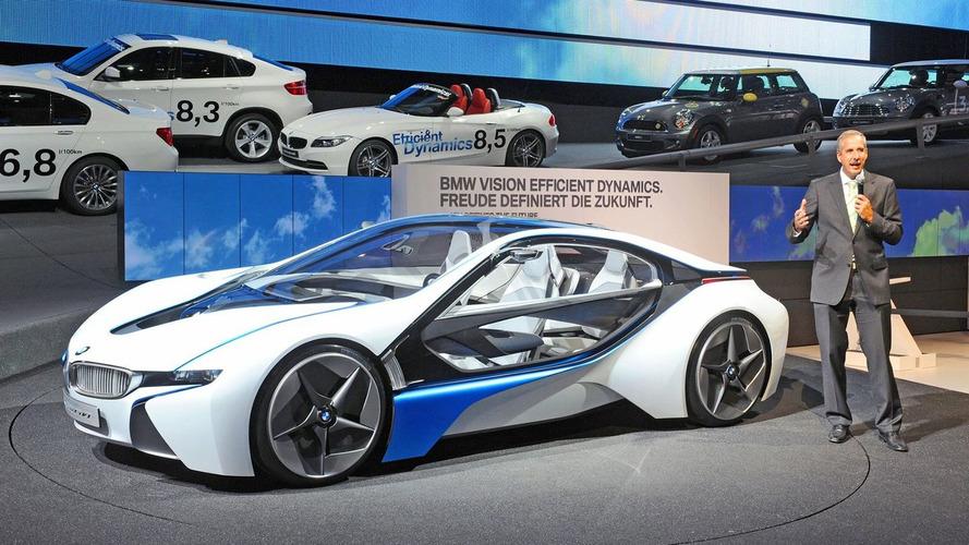 BMW i8 will get a petrol instead of diesel engine