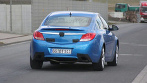 Opel Insignia OPC in Blue - Clearest Spy Photos Yet