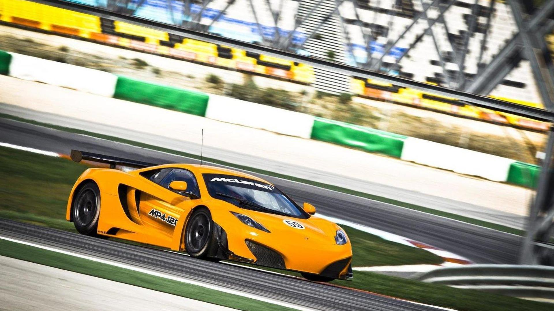 McLaren may build street-legal variant of MP4-12C GT3 Racecar