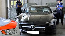 $1 million speeding fine in Switzerland for Swedish SLS owner