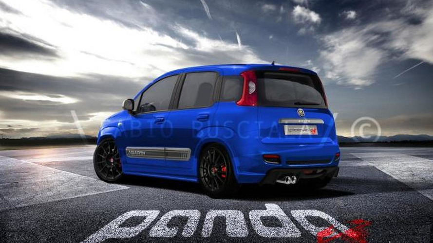 Abarth Panda Sport speculatively rendered