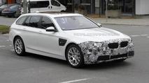 2013 BMW 5-Series Touring spy photo 29.10.2012 / Automedia