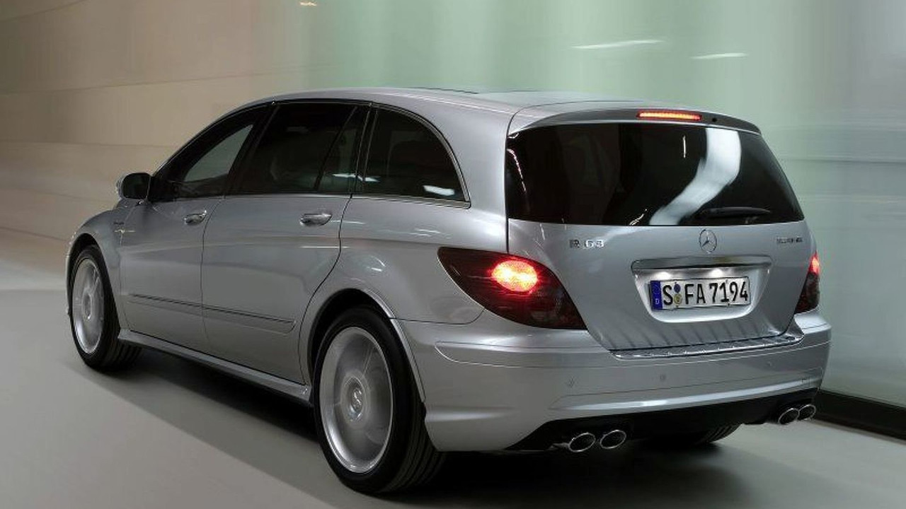 New Mercedes-Benz R63 AMG