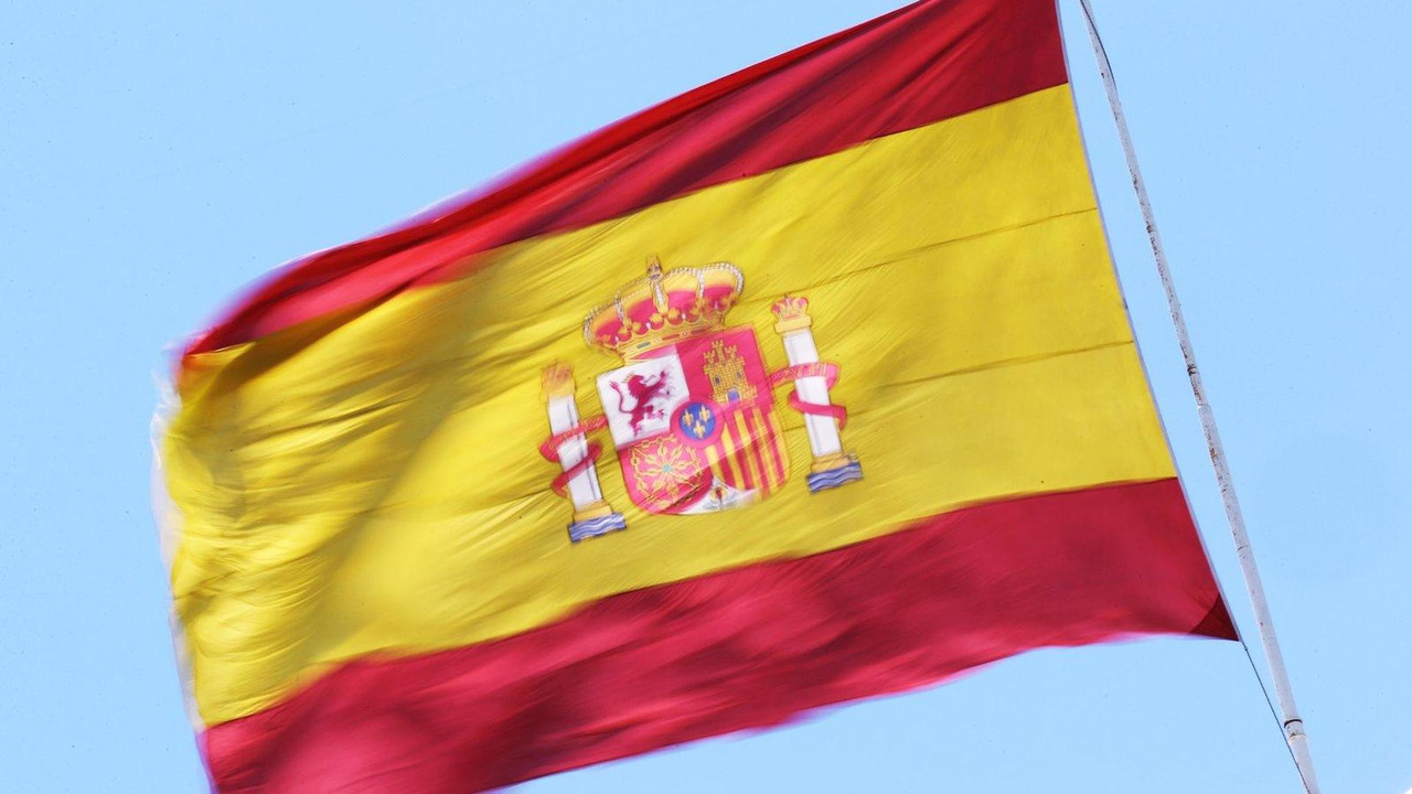 Spanish flag 21.06.2012 European Grand Prix