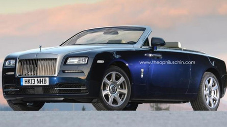 Rolls-Royce Wraith Drophead Coupe gets rendered