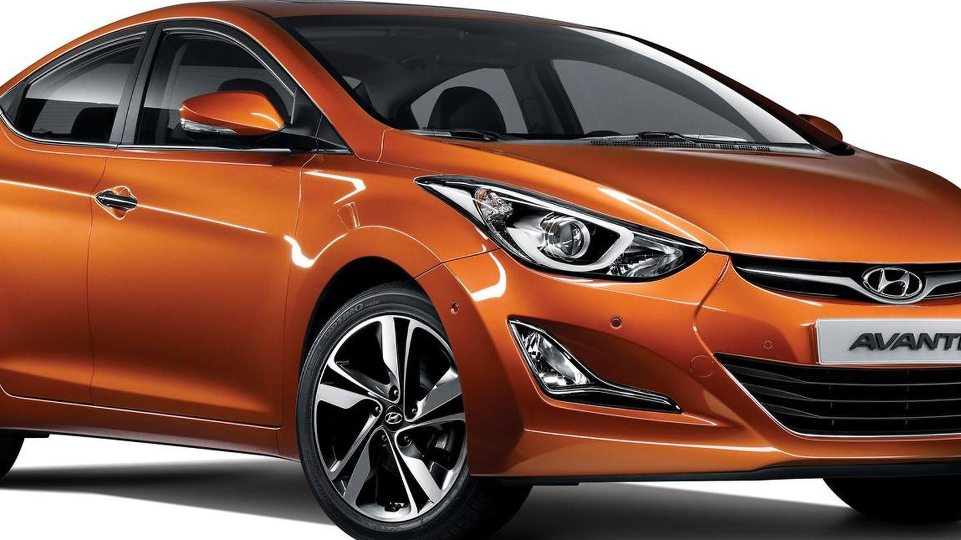 2014 Hyundai Avante / Elantra officially revealed