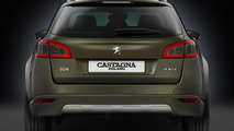 Carrozzeria Castagna creates a one-off Peugeot 508 RXH [video]