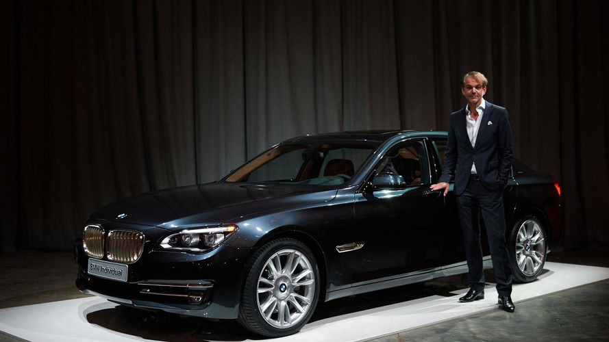 BMW Individual unveils the one-off 760Li Sterling inspired by Robbe & Berking
