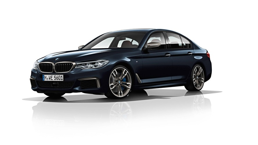 BMW's new M550i is quicker than the current M5