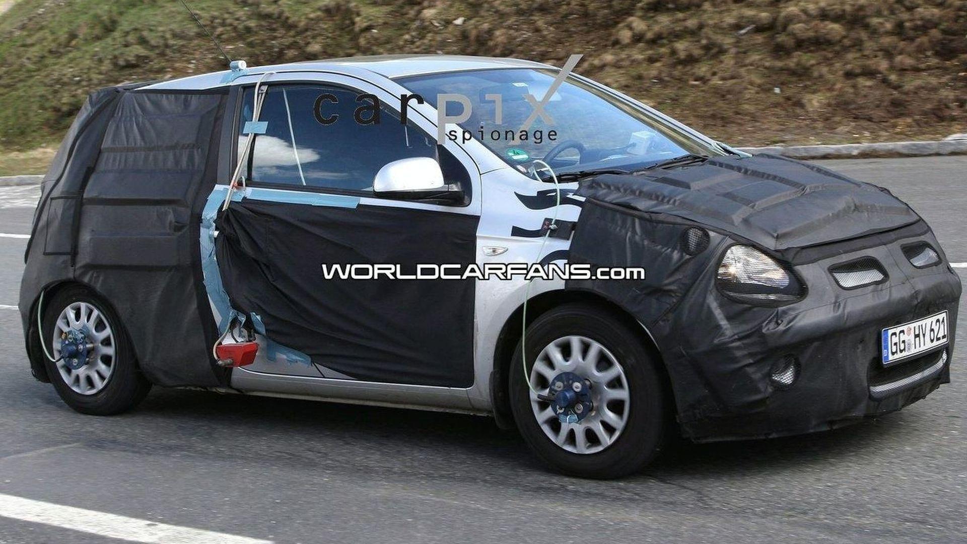 Hyundai i20 3-door spy photos