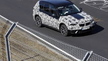2016 BMW X1 spied in action on the Nurburgring [video]