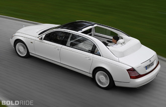 Daimler Eyes Return for Maybach Ultra-Luxury Brand
