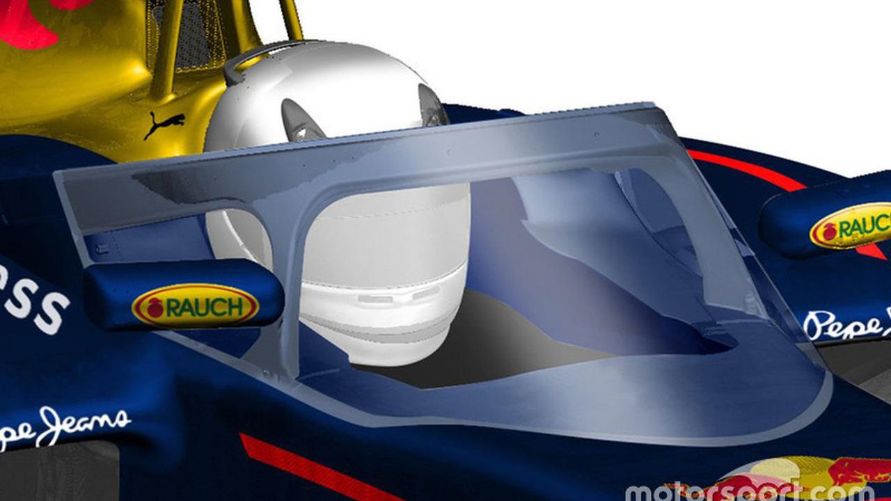 A possible future semi-closed canopy design by Red Bull